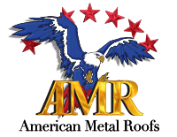 American Metal Roofs (AMR) of Michigan Logo