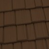 Country Manor Shake Metal Roof - Caramel Brown