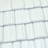 Country Manor Shake Metal Roof - White