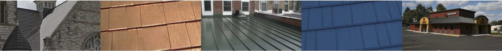 metal roofing in michigan product shots on church roofs and commercial property roofs