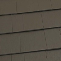 Oxford Shingle Metal Roof - Mustang Brown