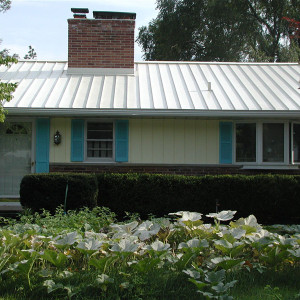 Centurion Standing Seam Metal Roof - Regal White
