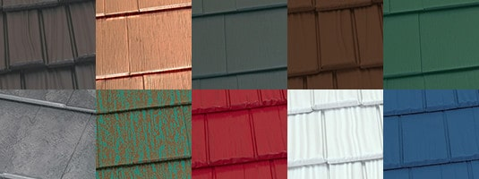 Attractive Metal Roofing Styles And Colors