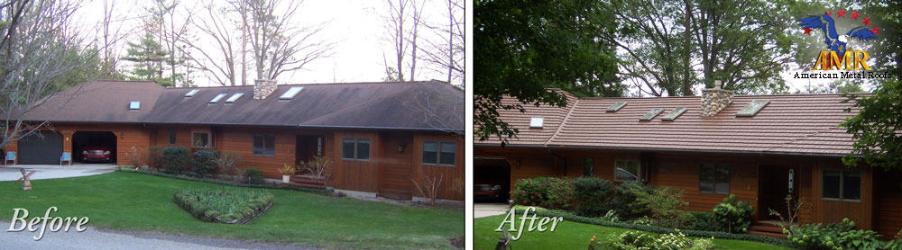 American Metal Roofs Installed, Replacing An Asphalt Roof