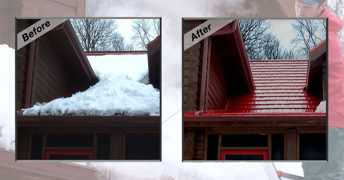 At American Metal Roofs We Take Ice And Snow Seriously. Aside From Our Ice  Prevention Products Ice Dam Cutter And Heated Shingle, We Now Offer Roof  Ice ...